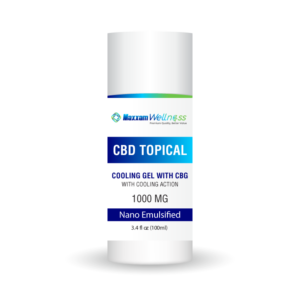 CBD Topica Cooling Gel with CBG