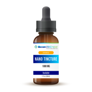 CBD Nano Tincture Isolate 1000mg Orange