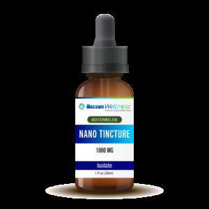 CBD Nano Tincture Isolate 1000mg Watermelon