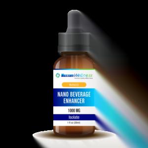 Nano CBD Beverage Enhancer Isolate 1000mg Mango