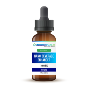 Nano CBD Beverage Enhancer Isolate 1000mg Natural