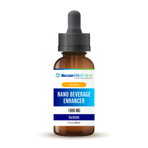 Nano CBD Beverage Enhancer Isolate 1000mg Orange